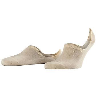 Falke Family hoge gesneden onzichtbare sokken - zand