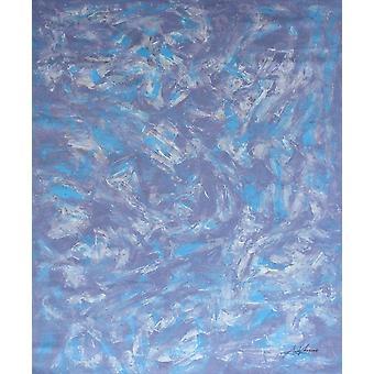 90x120cm, oljemålning på duk
