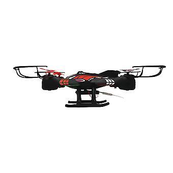 Mahomed JAM-422001 RC Drone Otez_emevitiene FPV 4 + 4-Channel RTF/Foto/vídeo/Verlichting/360 giratória/preto