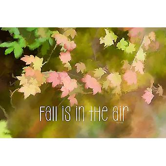 Fall is in the Air Poster Print by Ramona Murdock