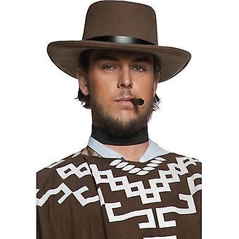 Smiffy's wędrówki bandyta kapelusz autentyczne Western