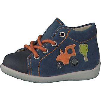 Ricosta Pepino Boys Andy Lace Boots Reef Blue