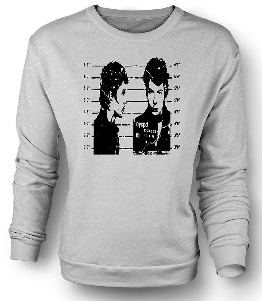 Mens Sweatshirt Sid Vicious - Sex Pistols - Mug Punk