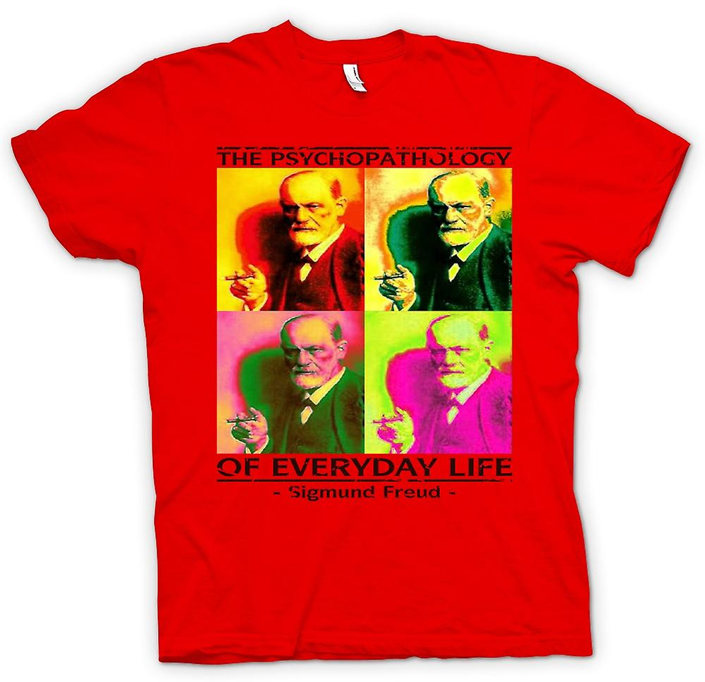 Mens T-shirt - Sigmund Freud Psychopathology - Psychology