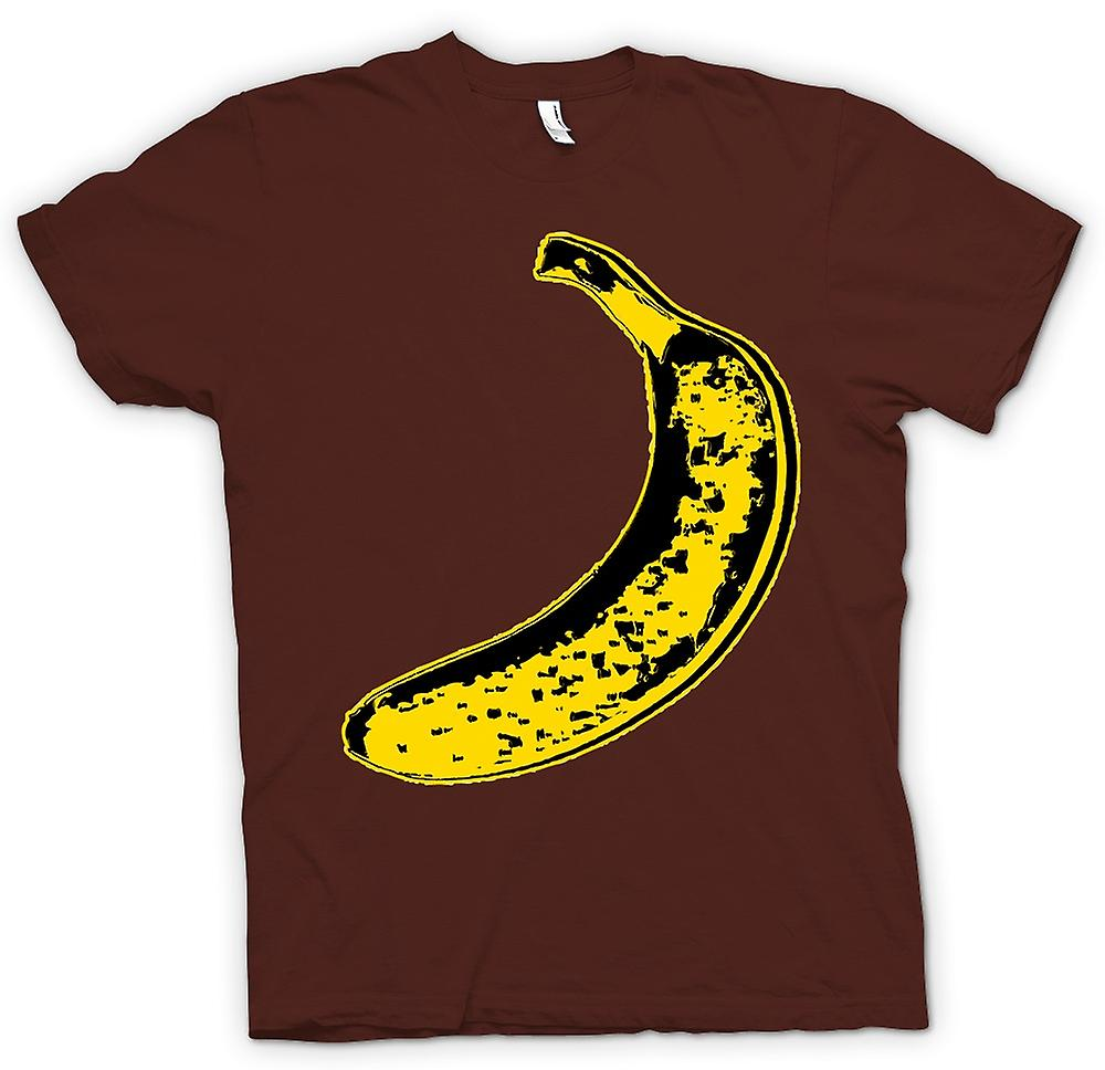 Heren T-shirt - Velvet Underground & Nico - Warhol