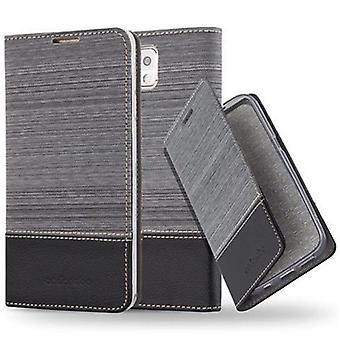 Cadorabo sleeve for Samsung Galaxy-NOTE 3 - mobile case with stand function and compartment in the fabric design - case cover sleeve pouch bag book