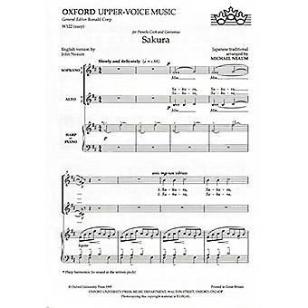 Sakura - Vocal Score by Michael Neaum - 9780193426207 Book