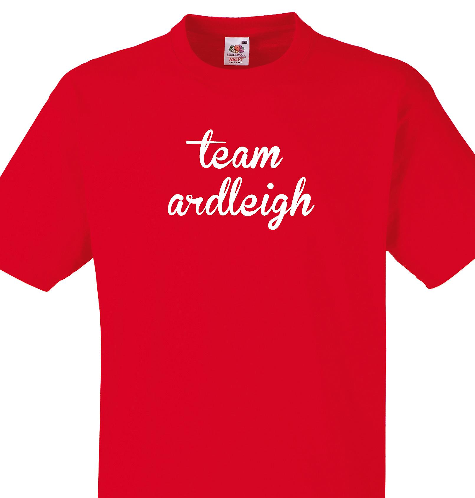 Team Ardleigh Red T shirt