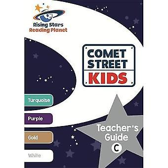 Lecture planète comète Street Kids Guide de l'enseignant C (Turquoise - blanc)