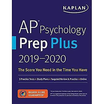 AP Psychology Prep Plus 2019-2020: 3 Practice Tests� + Study Plans + Targeted Review & Practice + Online� (Kaplan Test Prep)