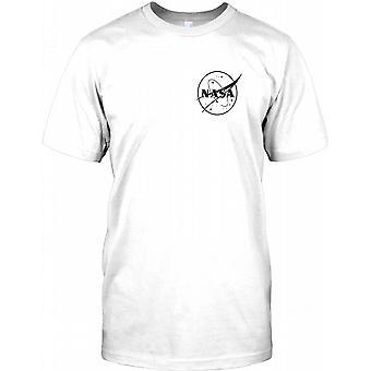 NASA - Space Exploration - Chest Logo Kids T Shirt