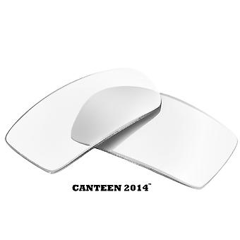 CANTEEN 2014 Replacement Lenses Crystal Clear by SEEK fits OAKLEY Sunglasses