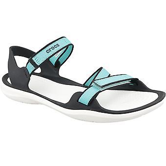 Crocs W Swiftwater sadelgjord Sandal 204804-4DY Womens utomhus sandaler