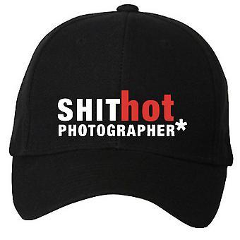 Sh*t Hot Photographer Black Baseball Cap