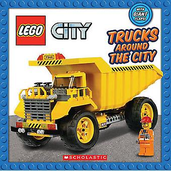 Lego City - Trucks Around the City by Scholastic - 9780545356299 Book