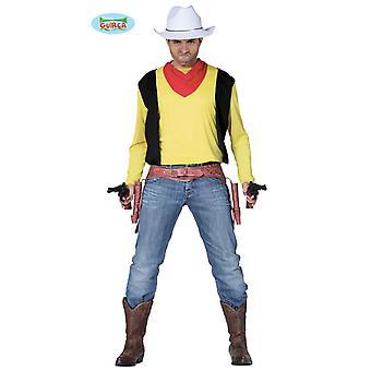 Men's shirt and towel of Wild West Joey cowboy Gunslinger