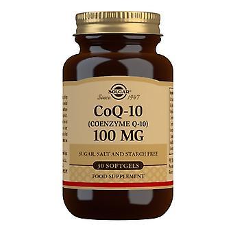 Solgar CoQ-10 100mg Softgels 30 (947)