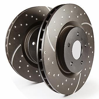 EBC Bremsen GD7254 GD Muster Rotoren