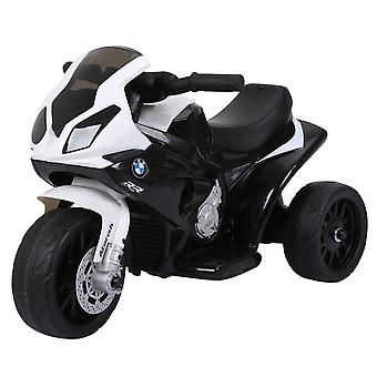 HOMCOM Electric Kids Ride on Motorcycle BMW Liscensed w/ Headlights Music Battery Powered Play Bike 6V