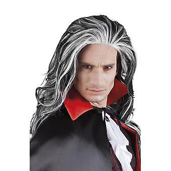 Menns voksne Vampire Louis Wig Halloween fancy kjole tilbehør