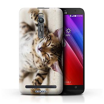 STUFF4 Case/Cover for Asus Zenfone 2 ZE550ML/Flat Out/Cute Kittens