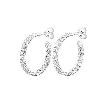 Elli Silver Women's Hoop Earrings