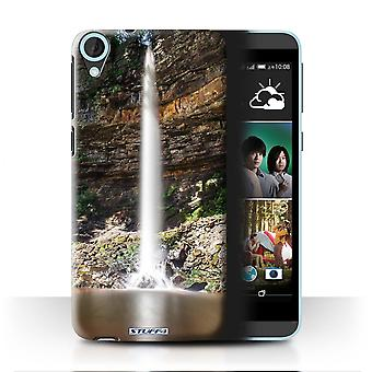 STUFF4 Case/Cover for HTC Desire 820s Dual/Tall/Rocks/Waterfalls