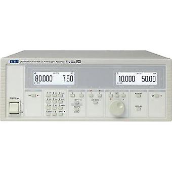 Bench PSU (adjustable voltage) Aim TTi QPX600DP 0 - 60 Vdc 0 - 50 A 600 W GPIB, LAN, LXI, RS232, USB , Analogue No. of