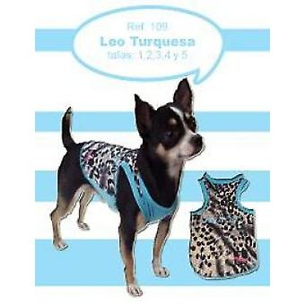 Dogmodel Leo Turquoise (Dogs , Dog Clothes , T-Shirts)