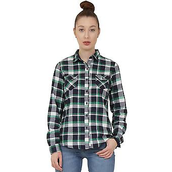 Tartan Check Shirt - Blue & Green
