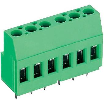Screw terminal 2.50 mm² Number of pins 8 AK700/8-5.0-V PTR Green 1 pc(s)