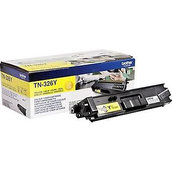 Toner cartridge Original Brother TN-326Y Yellow Page yield 3500 pages
