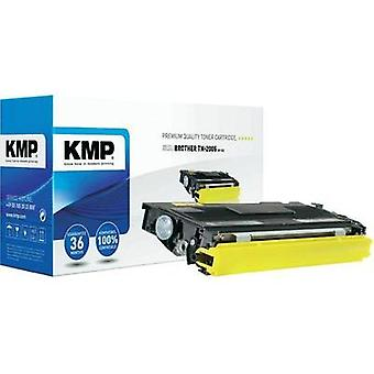 KMP Toner cartridge replaced Brother TN-2005 Compatible Black 1500 pages B-T23