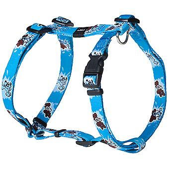 Rogz Pupz Nylon Harness Ringo Blue 16mm