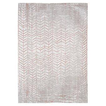 Grey Coppertone Chevron Living Room Rug - Louis de Poortere