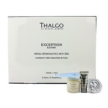 Thalgo Exception Ultime Ultimate Time Solution Ritual - Anti Age Treatment Protocol (Salon Product) - 6 Treatments
