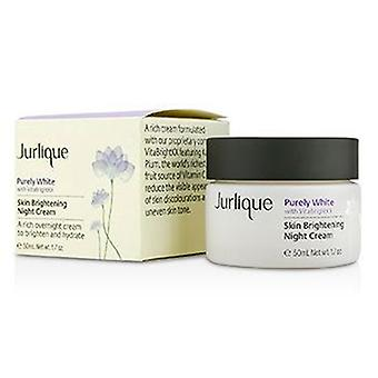 Jurlique rent hvide hud lysere natcreme - 50ml / 1.7 oz