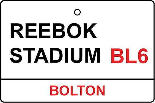 Bolton / Reebok Stadium Street Sign Car Air Freshener