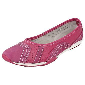 Damer ned på jorden flad Ballerina sko F8991