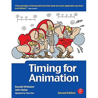 Timing for Animation (Paperback) by Whitaker Harold Halas John