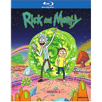 Rick & Morty: The Complete First Season [BLU-RAY] USA import