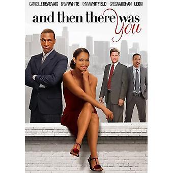 Og så der var du [DVD] USA import