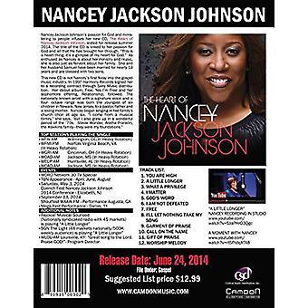 Nancey Jackson Johnson - Heart of Nancey Jackson Johnson [CD] USA import