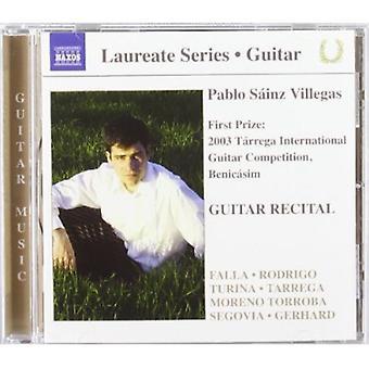 Pablo Sainz - Guitar Recital [CD] USA import
