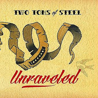 To Tons stål - Unraveled [CD] USA import