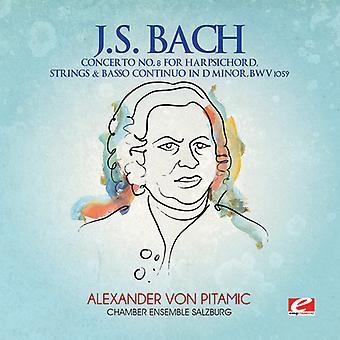 J.S. Bach - J.S. Bach: Violinkonsert nr 8 cembalo strängar & generalbas i D-moll, Bwv 1059 [CD] USA import