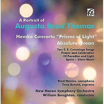 Thomas/Hemke/New Haven Sym Orch/Boughton - portræt af Augusta Read Thomas [CD] USA import