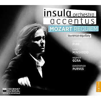 Mozart/Equilbey/Insula Orch/Accentus/Piau - Requiem [CD] USA import