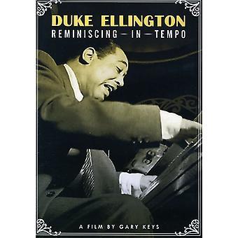 Duke Ellington - importación de Estados Unidos Reminiscingin Tempo [DVD]