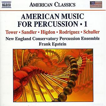 Tower/Higdon/Rodriguez/Sandler/Schuller - American Music for Percussion, Vol. 1 [CD] USA import